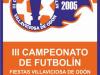 Torneo futbolín Villaviciosa de Odón 2006