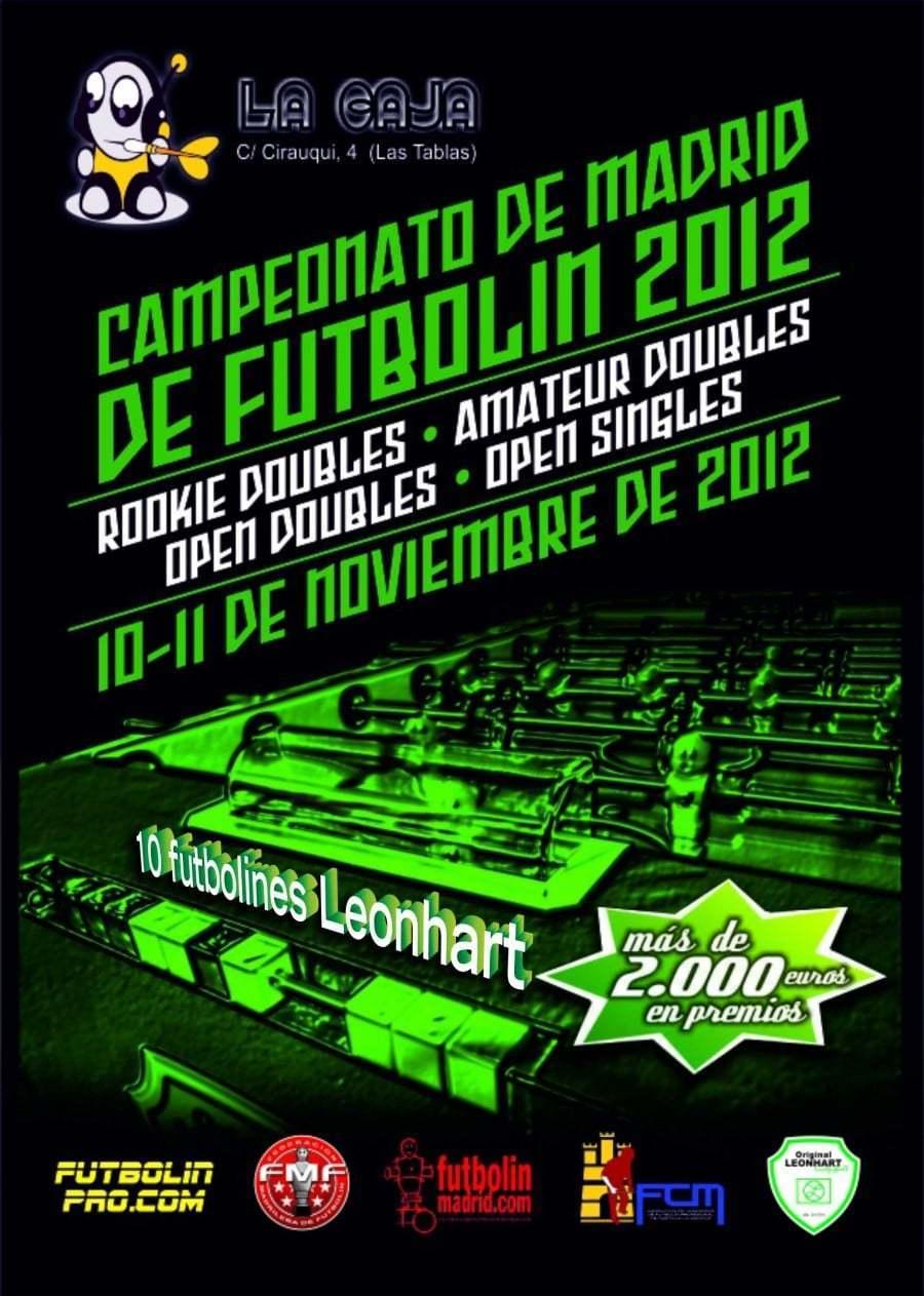campeonato de Madrid 2012