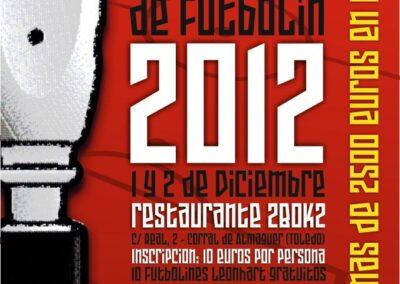 campeonato futbolin 2012