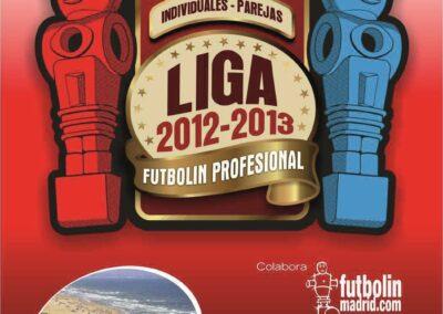 liga futbolin 2012 - 2013