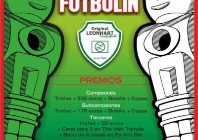 liga futbolin parkim-irish temple 2013