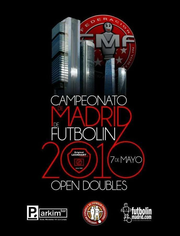 Open de Madrid de futbolin 2016