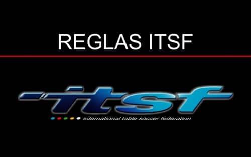 reglas de futbolin ITSF