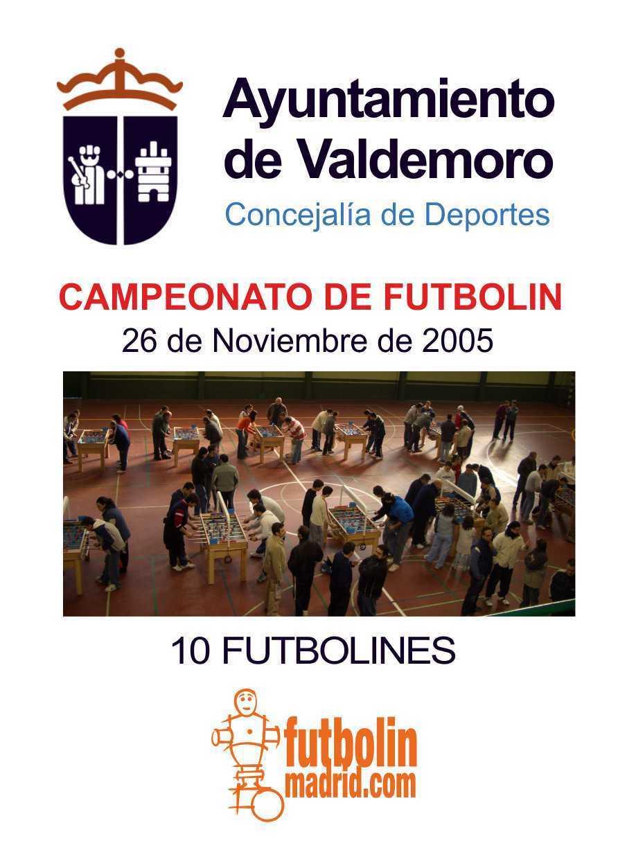 valdemoro futbolin 2005