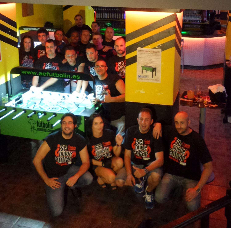 """Futbolín """"papelillos"""" los Jueves en Parkim Bar"""
