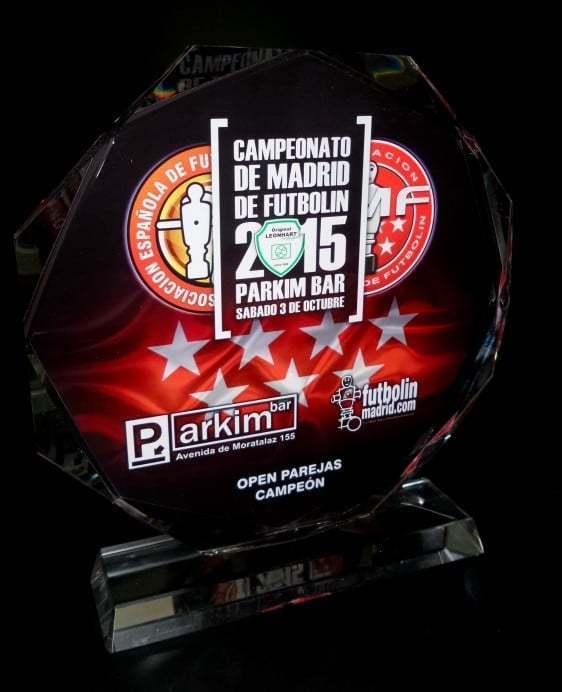 Trofeos Open de Madrid de futbolín 2015