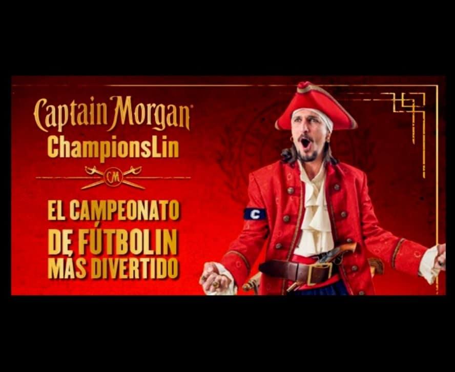 Futbolín Capitán Morgan
