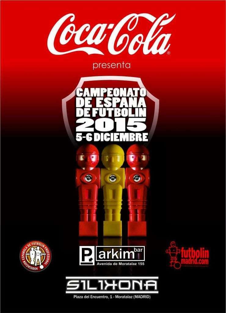 Campeonato de España de futbolín Coca Cola 2015