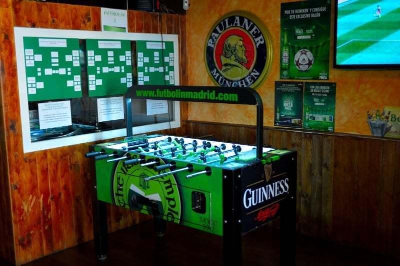 Futbolín y liga GRATIS en tu local