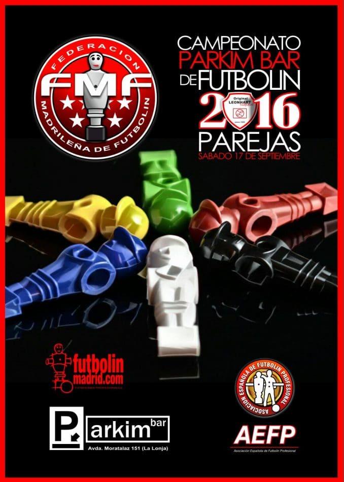Bases CAMPEONATO FUTBOLIN PARKIM BAR 2016