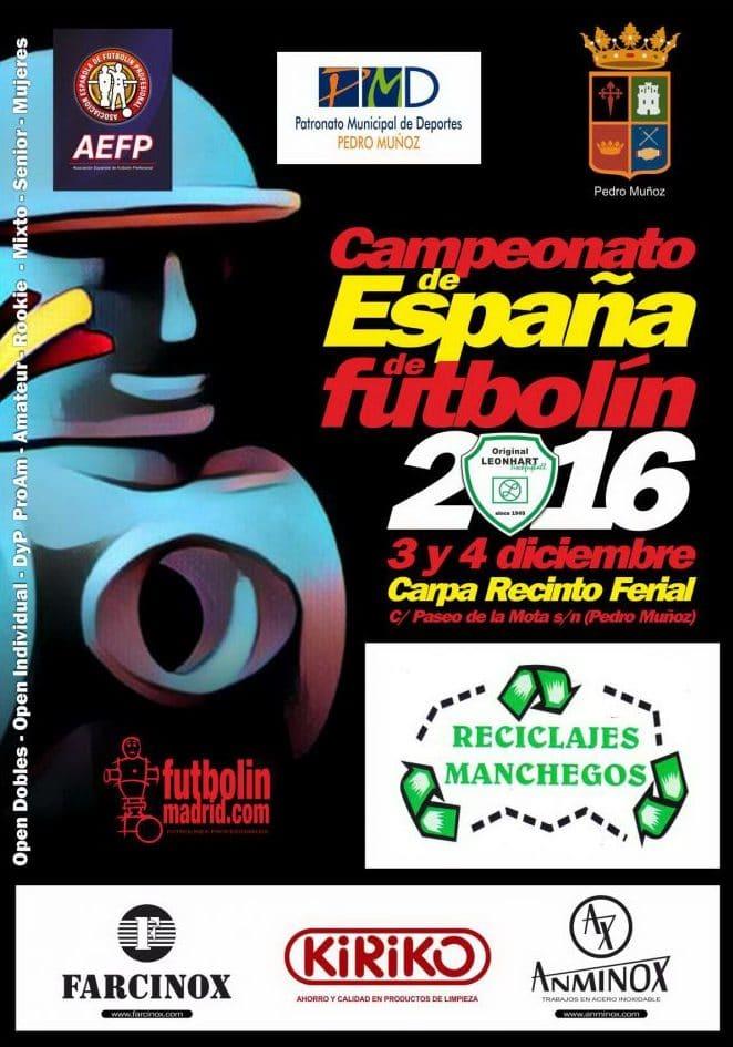 Campeonato de España de Futbolín AEFP 2016