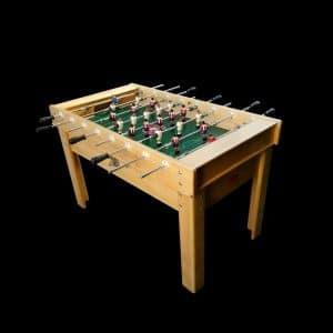 Futbolin de madera de haya