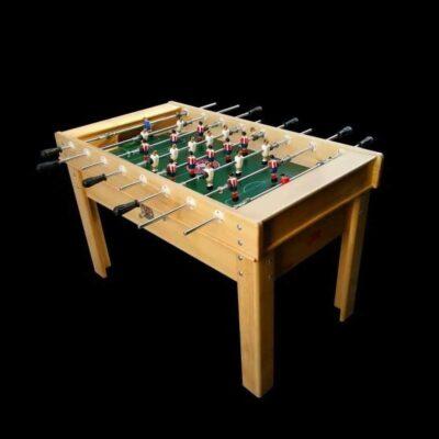 Futbolín de madera de haya