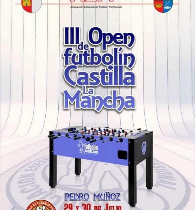 III Open de futbolin Castilla La Mancha