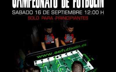 Campeonato de futbolín Ballabola