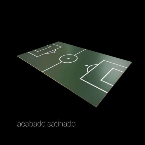 campo futbolín Madrid satinado