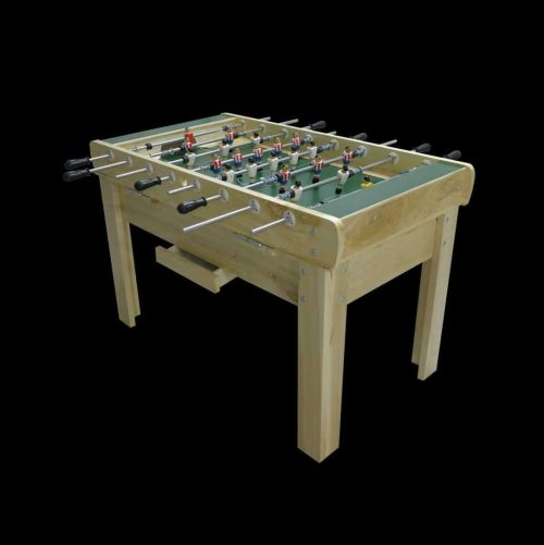 Futbolín de madera de abedul