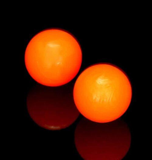 Bola naranja fluor