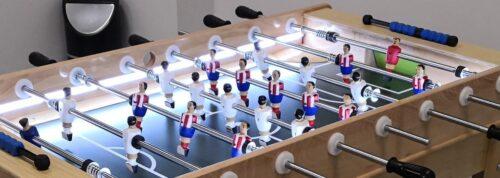futbolín Madrid con luz
