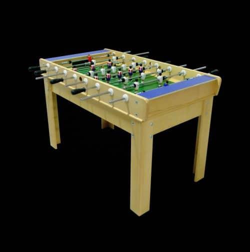 Futbolín-madera haya sin monedero
