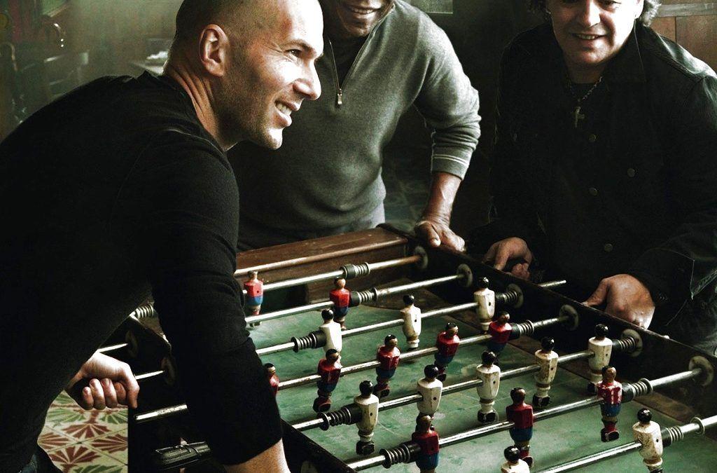 Pelé, Maradona y Zidane (anuncio para Louis Vuitton)