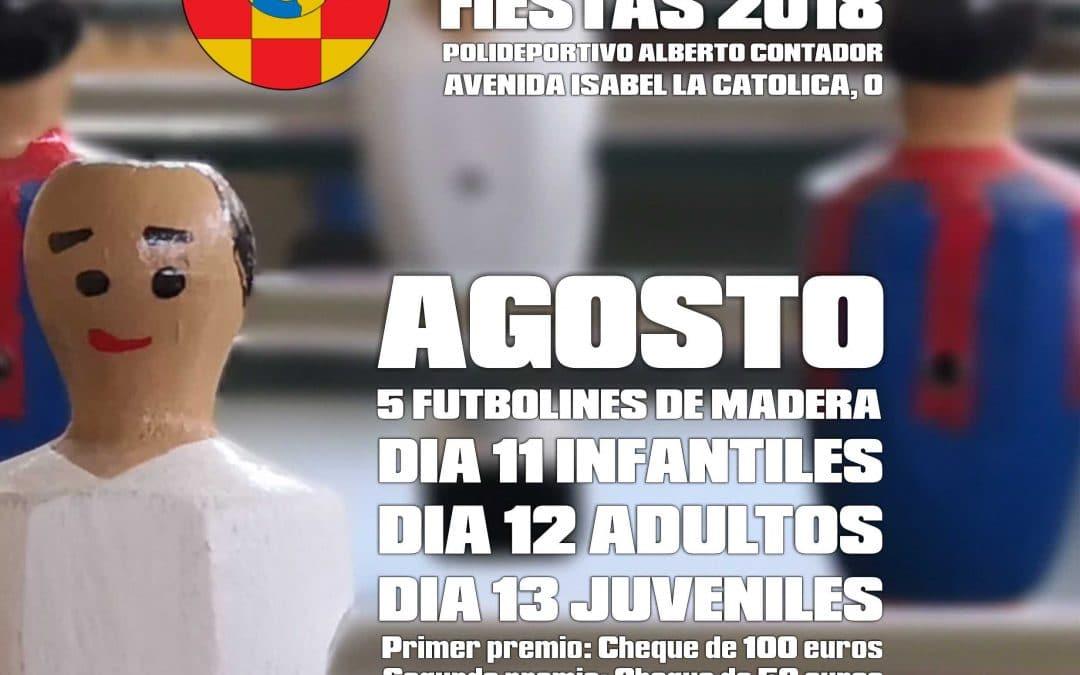 Campeonato de futbolín PINTO 2018