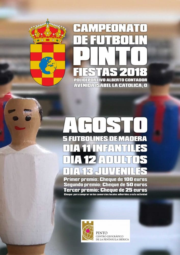 campeonato de futbolin pinto 2018