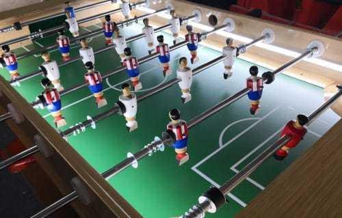 led futbolín