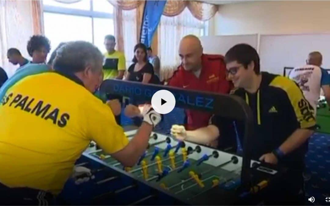 Campeonato de España de futbolín en Antena 3