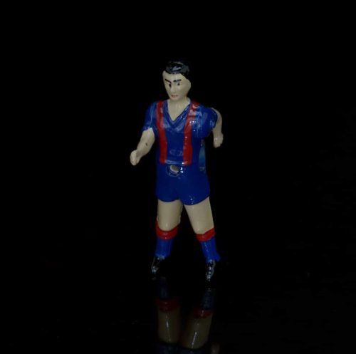 muñeco futbolín de dos piernas Barcelona