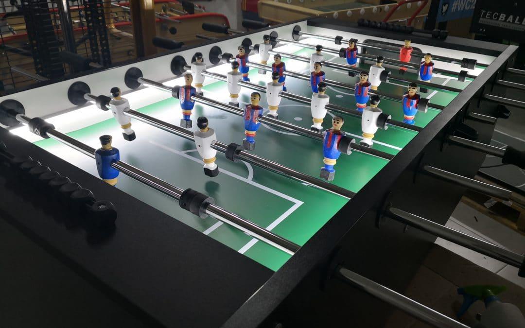 Ullrich Sport con jugadores de madera