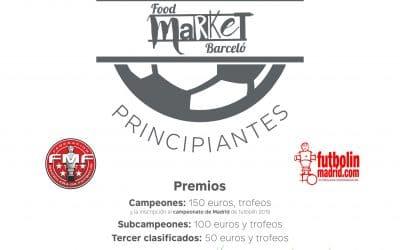 Liga futbolín Food Market