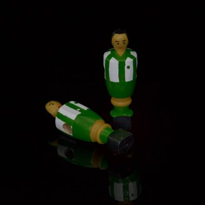 muñeco futbolín Betis