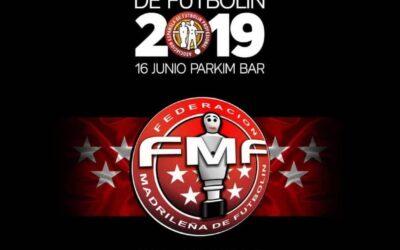 Campeonato de Madrid de futbolín 2019
