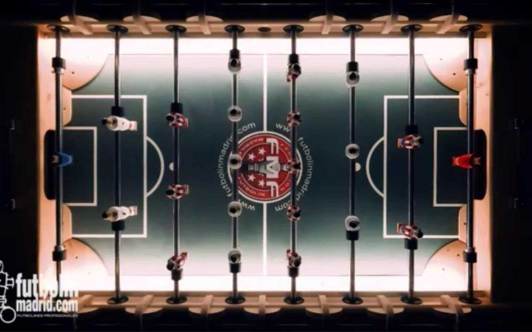 Iluminación futbolín