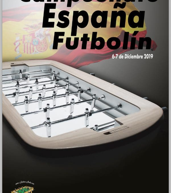 Campeonato de España de futbolín 2019