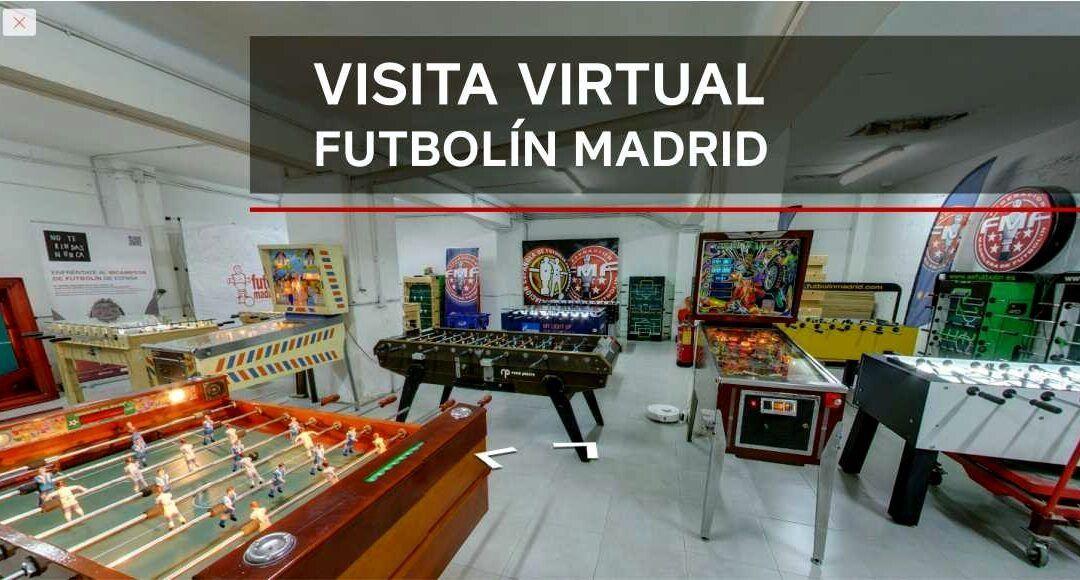 Visita virtual Futbolín Madrid
