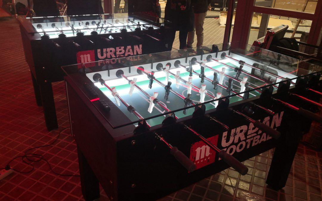 Futbolines para Mahou Urban Football