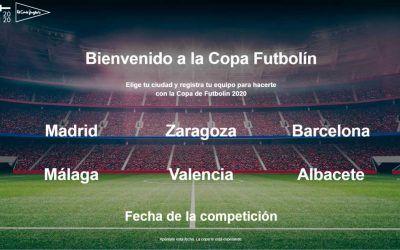 Copa futbolín El Corte Inglés