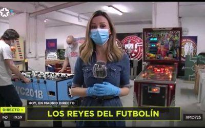 Madrid directo en Futbolín Madrid
