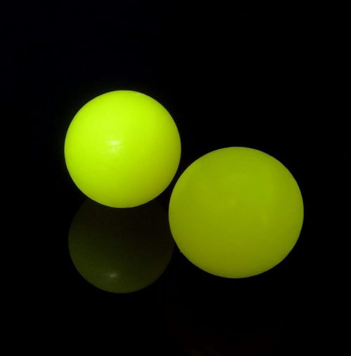 Bola amarilla fluor