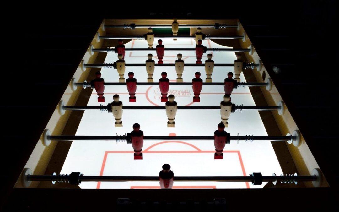 Futbolín Madrid de diseño