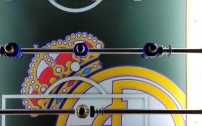 Futbolín Real Madrid Chelsea